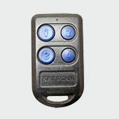 keyscan key fob garage remote